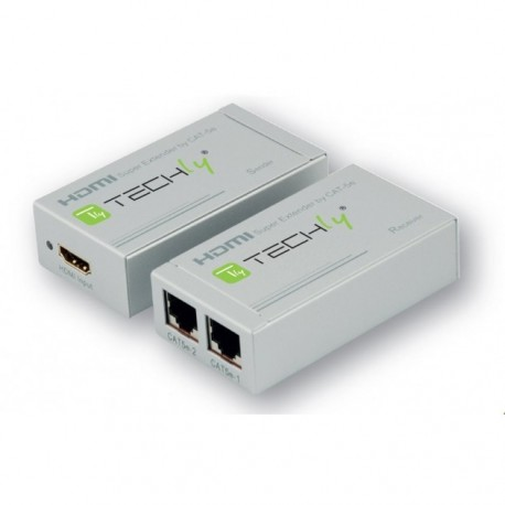 Techly Amplificatore HDMI su cavo CAT56 100 Mt