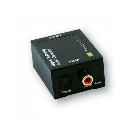OEM Convertitore Audio da digitale ad analogico Nero IDATA SPDIF 3
