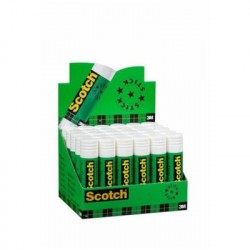 Scotch Espositore 30 Colle Stick Bianche Permanenti 8 g 54626
