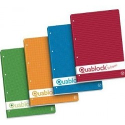 Pigna quablock A4 210 x 297 mm A4 250fogli ricambi per quaderni 00609774M