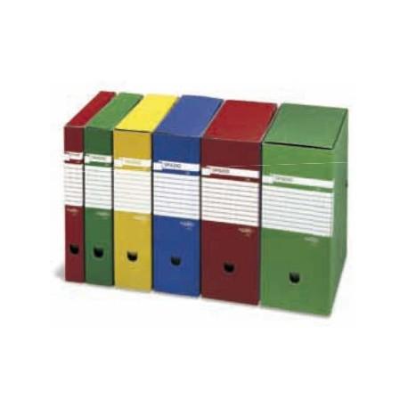 SEI Rota SPAZIO 120 Rosso scatola per archivio 67891212S