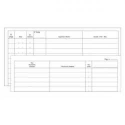 Edipro E2800 50pagine modulo e libro contabile