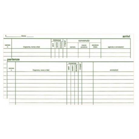 Edipro Register Arrivals 47pagine modulo e libro contabile E2839