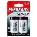 Energizer Eveready Silver D 2 - pk Zinco-Carbonio 1.5V batteria non-ricaricabile 621070