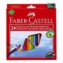 Faber-Castell 120524 24pezzoi pastello colorato