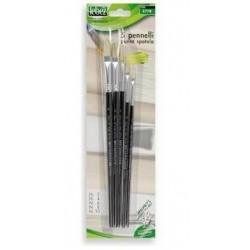 Lebez 577B 5pezzoi pennello per verniciare di tipo generico