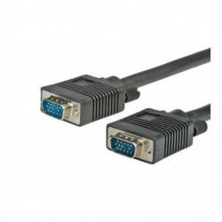 Nilox CROS3602 2m VGA D Sub VGA D Sub Nero cavo VGA