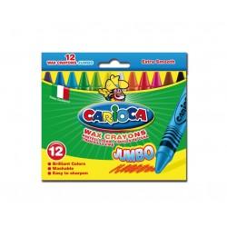 Carioca Wax Jumbo 12pezzoi 42369
