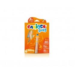 Carioca 3 in 1 Crayon 6pezzoi 42817