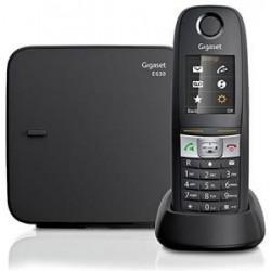 Gigaset E630 DECT Identificatore di chiamata Nero S30852H2503K101