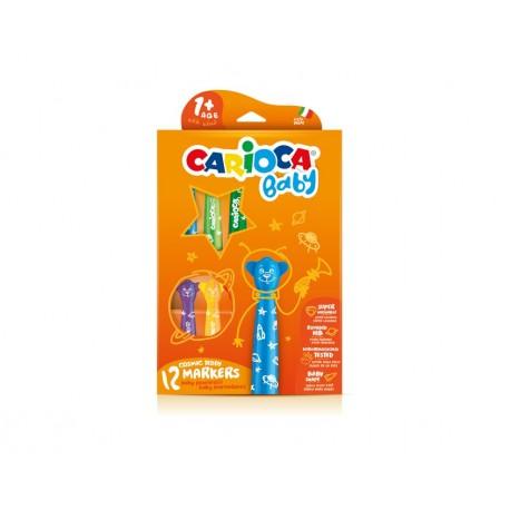 Carioca Teddy Marker 1 Extra grassetto Multicolore 12pezzoi marcatore 42816