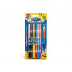 Carioca Bi Color Medio Multicolore 6pezzoi marcatore 42269