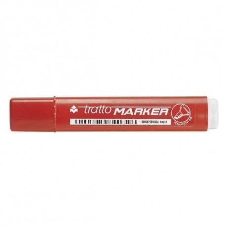 Tratto Marker Tipo di punta Rosso 12pezzoi marcatore permanente 841102