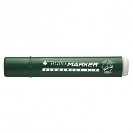 Tratto Marker Punta smussata Verde 12pezzoi marcatore permanente 840104