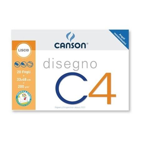 Canson ALBUM C4 4ANG LISCIO 33X48CM 200G