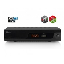 Telesystem TS6820 Terrestre Full HD Nero set top box TV 21005277