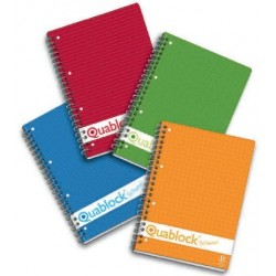 Pigna Quablock Rosso quaderno per scrivere 02000011R
