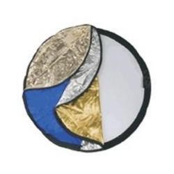 D rr CRK 32 Rotondo Nero, Blu, Oro, Argento, Bianco riflettore per studio fotografico 372582