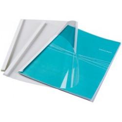 Fellowes 53152 A4 Plastica Trasparente, Bianco 100pezzoi cartellina