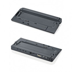 Fujitsu S26391 F1557 L110 replicatore di porte e docking station per notebook Nero