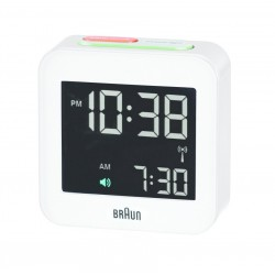 Braun BNC 008 Digital table clock Bianco Quadrato 66016