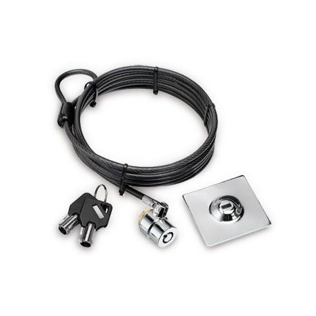 Hamlet Tablet Pc Lock cavo di sicurezza con lucchetto a chiave per tablet, tv e monitor di 200cm XNBTLOCK20K