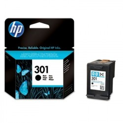 HP 301 Black Ink Cartridge cartuccia dinchiostro Nero CH561EE301