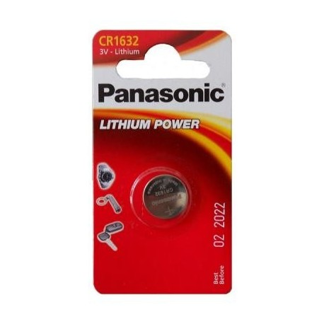 Panasonic Lithium Power Litio 3V batteria non ricaricabile C301632