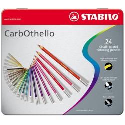 Stabilo Carbothello 24pezzoi pastello colorato 1424 6