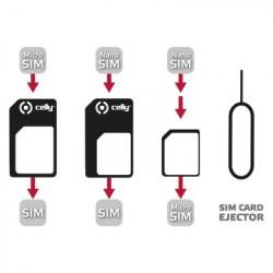 Celly SIMKITAD SIM card adapter adattatore per SIMflash memory card