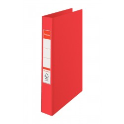 Esselte Standard Ring Binders , PP Red 2 x 25 mm Rosso raccoglitore ad anelli 14451
