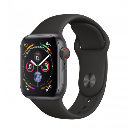 Apple Watch Series 4 smartwatch Grigio OLED Cellulare GPS satellitare MTVD2TYA