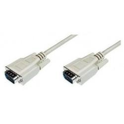 Nilox 5m VGA cavo VGA VGA D Sub Grigio CRO11995256