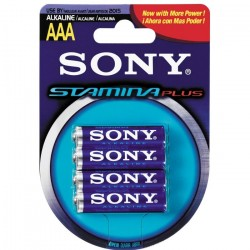 Sony Stamina Plus AAA 4 Pack Single use battery Alcalino 1,5 V AM4B4D