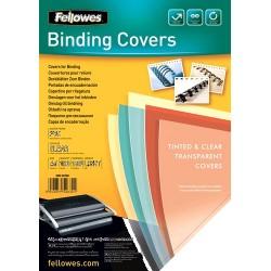 Fellowes 5375901 cartellina A4 Plastica, PVC Trasparente 100 pezzoi