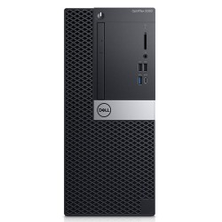 DELL OptiPlex 5060 Intel Core i7 di ottava generazione i7 8700 8 GB DDR4 SDRAM 1000 GB HDD Nero Mini Tower PC 9GNYV