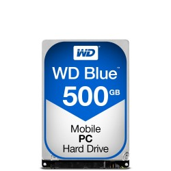 Western Digital Blue PC Mobile 2.5 500 GB Serial ATA III HDD WD5000LPCX