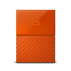 Western Digital My Passport disco rigido esterno 1000 GB Arancione WDBYNN0010BOR WESN