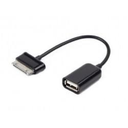 Techmade A OTG AF30P 001 cavo per cellulare Nero USB A Samsung 30 pin 0,15 m