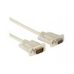 Nilox 1.8m VGA cavo VGA 1,8 m VGA D Sub Grigio RO11.01.6518
