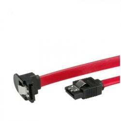 Nilox 1m SATA cavo SATA SATA 7 pin Nero, Rosso NX090305115