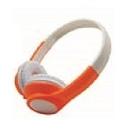 Xtreme Nassau Padiglione auricolare Stereofonico Cablato Arancione, Bianco auricolare per telefono cellulare 33664O