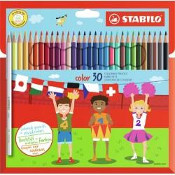 Stabilo 193077 01 Multi 30pezzoi pastello colorato