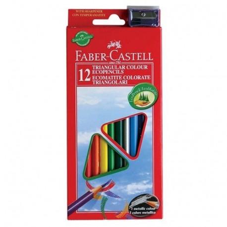 Faber Castell 120523 12pezzoi pastello colorato