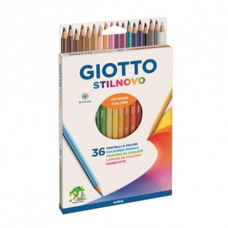 Giotto Stilnovo Multi 36pezzoi pastello colorato 256700