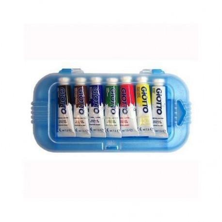 Giotto T mpera Extra Nero, Blu, Marrone, Verde, Rosso, Bianco, Giallo Tubo 7.5ml 301500