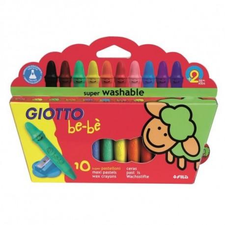 Giotto Be Be Wax pastel Multicolore 10pezzoi 466800