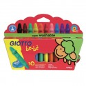 Giotto Be-Be Colori a cera Multicolore 10 pezzoi 466800