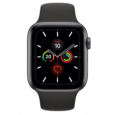 Apple Watch Series 5 smartwatch Grigio OLED GPS satellitare MWVF2TYA