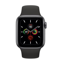 Apple Watch Series 5 smartwatch Grigio OLED GPS satellitare MWV82TYA